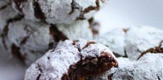 Gâteaux craquelés au chocolat au thermomix