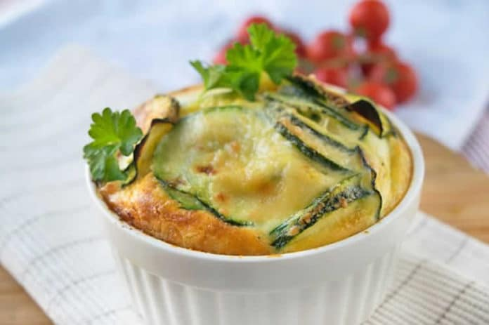 Mini gratin de courgettes au thermomix