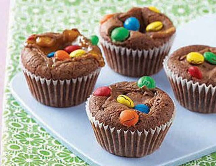 Muffin chocolat et m&m's au thermomix