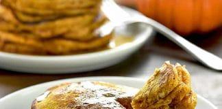 Pancake au courge butternut