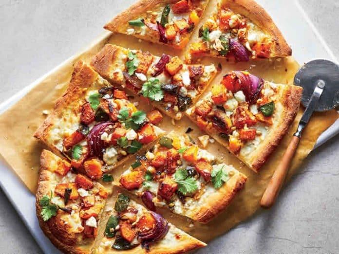 Pizza à la courge