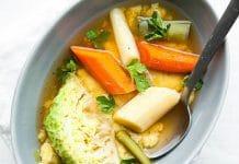 Pot-au-feu végétarien au thermomix
