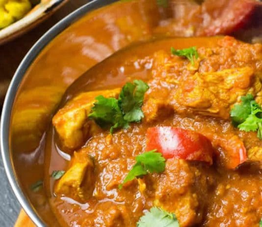 Poulet Balti au curry Weight Watchers