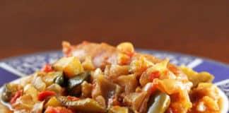 Ratatouille au piment au cookeo