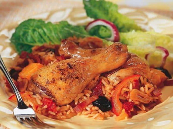 Recette poulet basquaise au cookeo