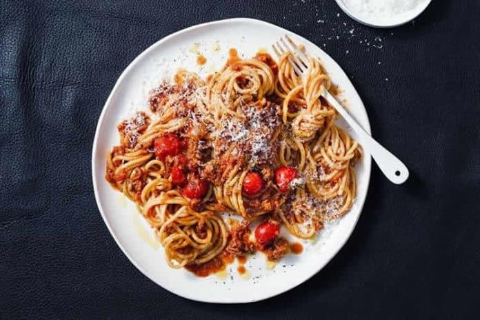 Recette spaghetti à la bolognaise