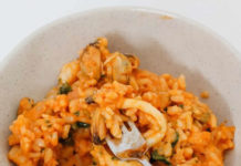 Risotto aux fruits de mer au thermomix