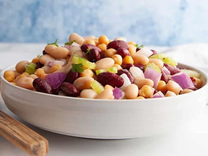 Salade aux deux haricots ww