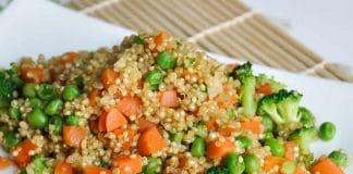 Salade quinoa brocoli au cookeo