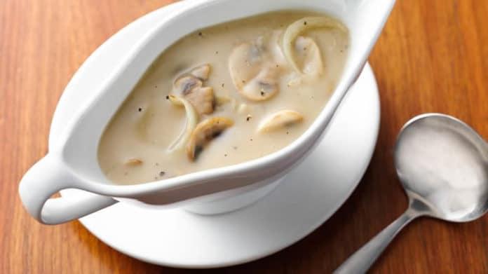 Sauce aux champignons au thermomix