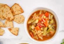 Soupe aux légumes Weight Watchers
