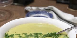 Soupe pommes de terre et poireaux au thermomix