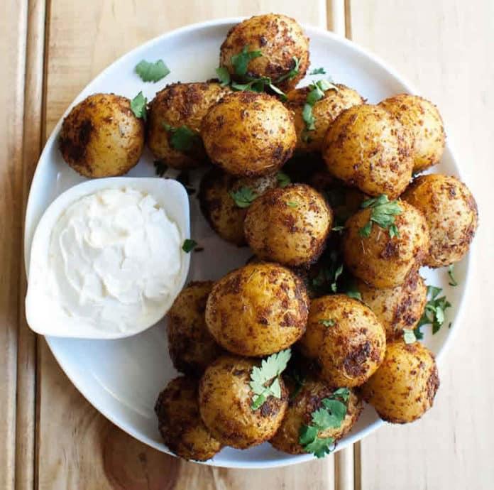 pommes de terre épicées au cookeo