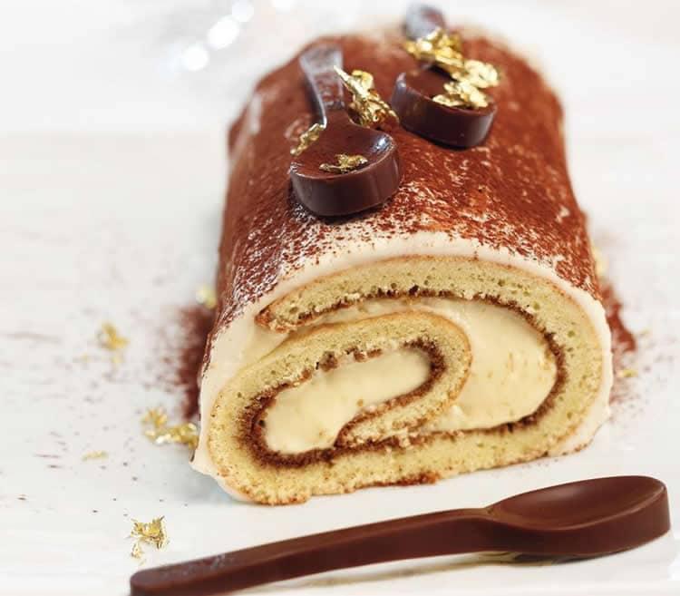 Bûche tiramisu facile au thermomix - gâteau pour vos fêtes ...