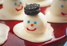 Bonhomme de neige au thermomix