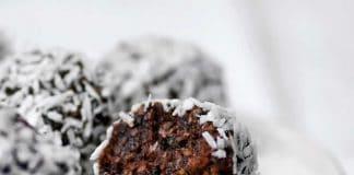 Boules chocolat dattes au thermomix