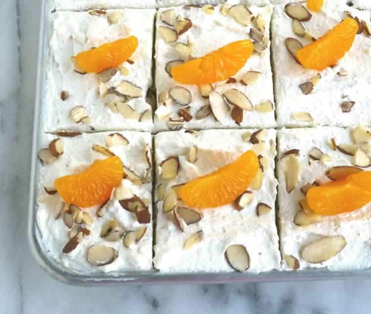 Cake à la mandarine et amandes au thermomix 1