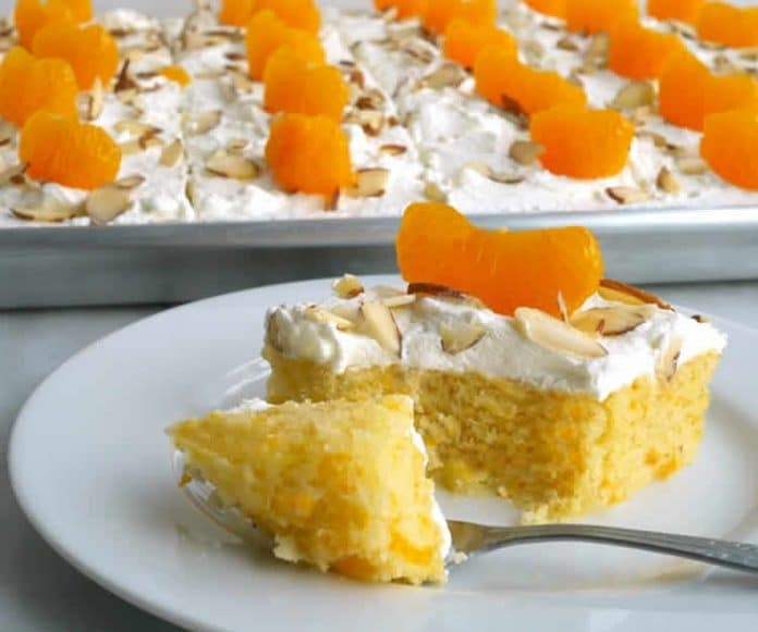 Cake à la mandarine et amandes au thermomix