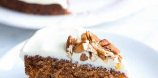 Cake aux carottes et glaçage au thermomix