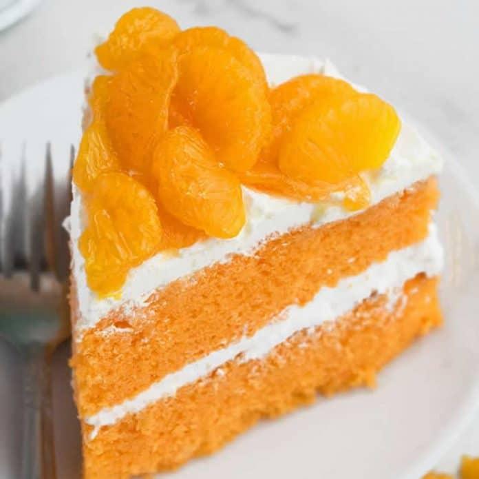 Cake fondant à la mandarine au thermomix