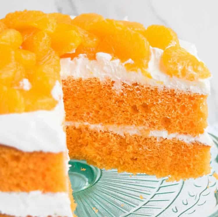 Cake fondant à la mandarine au thermomix 1