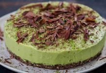 Cheesecake avocat citron au thermomix