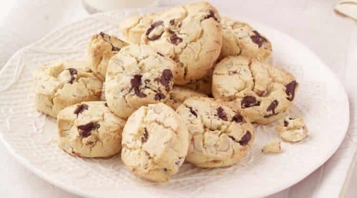 Cookies à la noisette et chocolat au thermomix