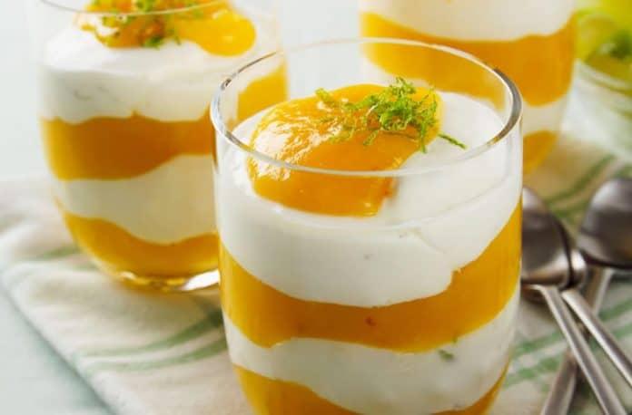 Crème à la mangue au thermomix