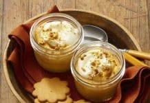 Crème dessert courge butternut