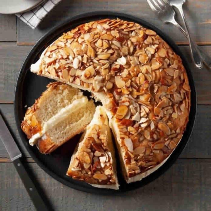 Gâteau aux amandes et à la crème au thermomix