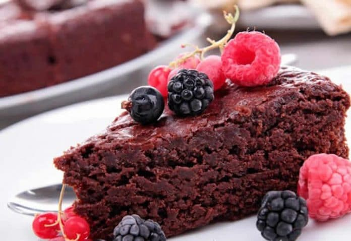 Gâteau chocolat sans oeufs au thermomix