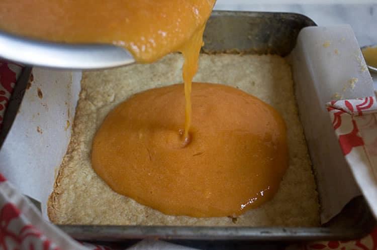 Gâteau barre à la papaye 1