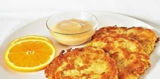 Kartoffelpuffer - crêpes de pommes de terre