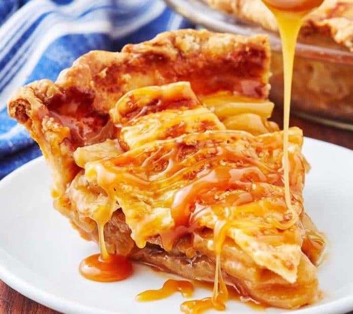La fameuse tarte aux pommes