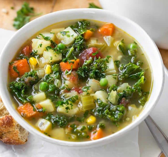 L'irrésistible soupe de légumes