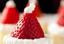 Mini cheesecake de Noel