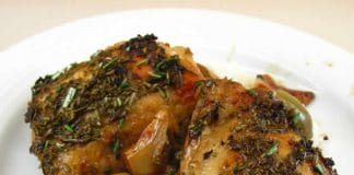 Poulet rôti au olives au cookeo