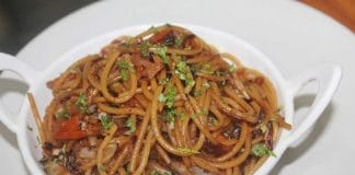 Spaghettis à la chinoise