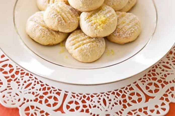 Biscuits tendres au citron au thermomix