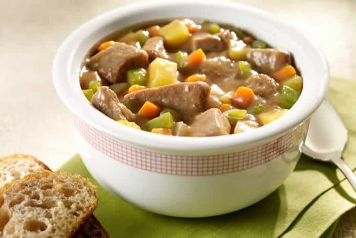 Blanquette de dinde aux légumes au cookeo