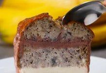 Cake à la banane et glaces au thermomix