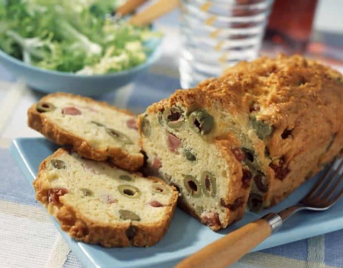 Cake au jambon apéro au thermomix