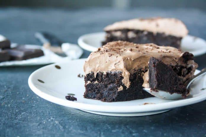 Cake chocolat ganache
