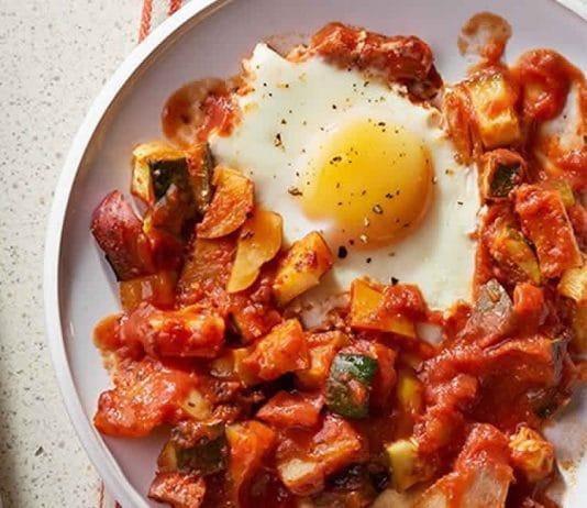 Chakchouka aux œufs au cookeo