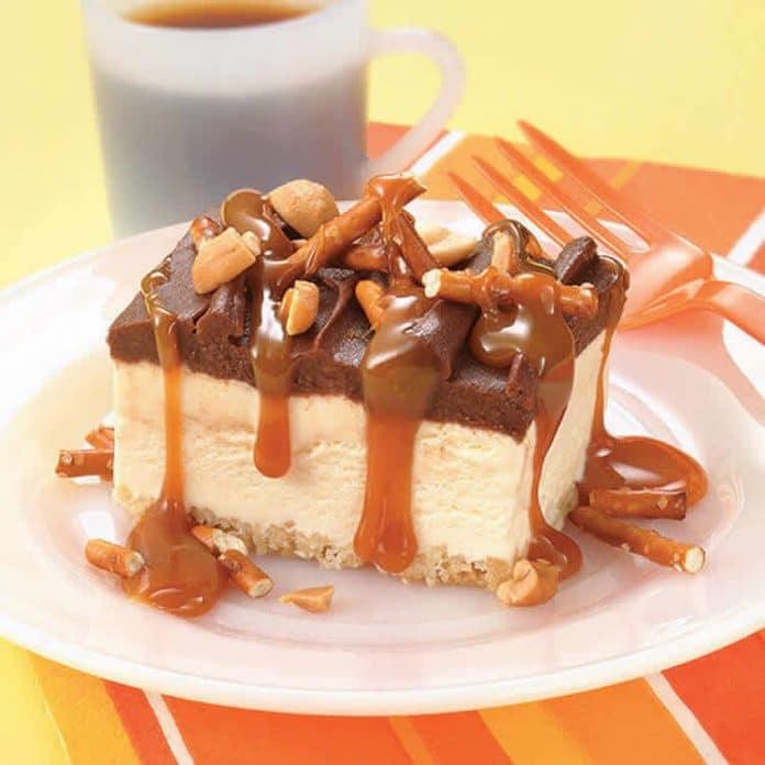Cheesecake caramel et cajou au thermomix
