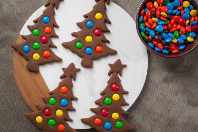 Cookies sapin de noël au thermomix