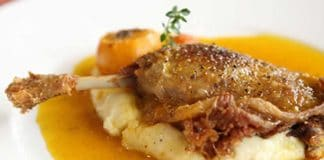 Cuisse canard à l'orange au cookeo