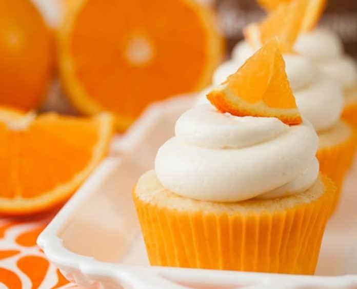 Cupcake Vodka et orange au thermomix