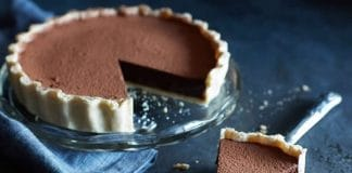 Gâteau au chocolat et brandy