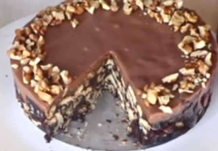 Gâteau au chocolat sans cuisson 1